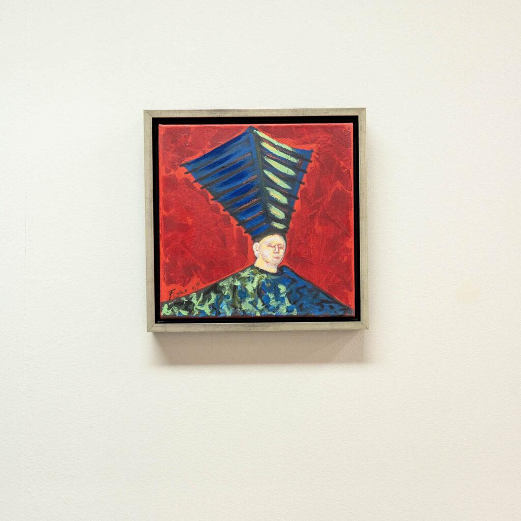 Srebrn lakiran okvir za slike