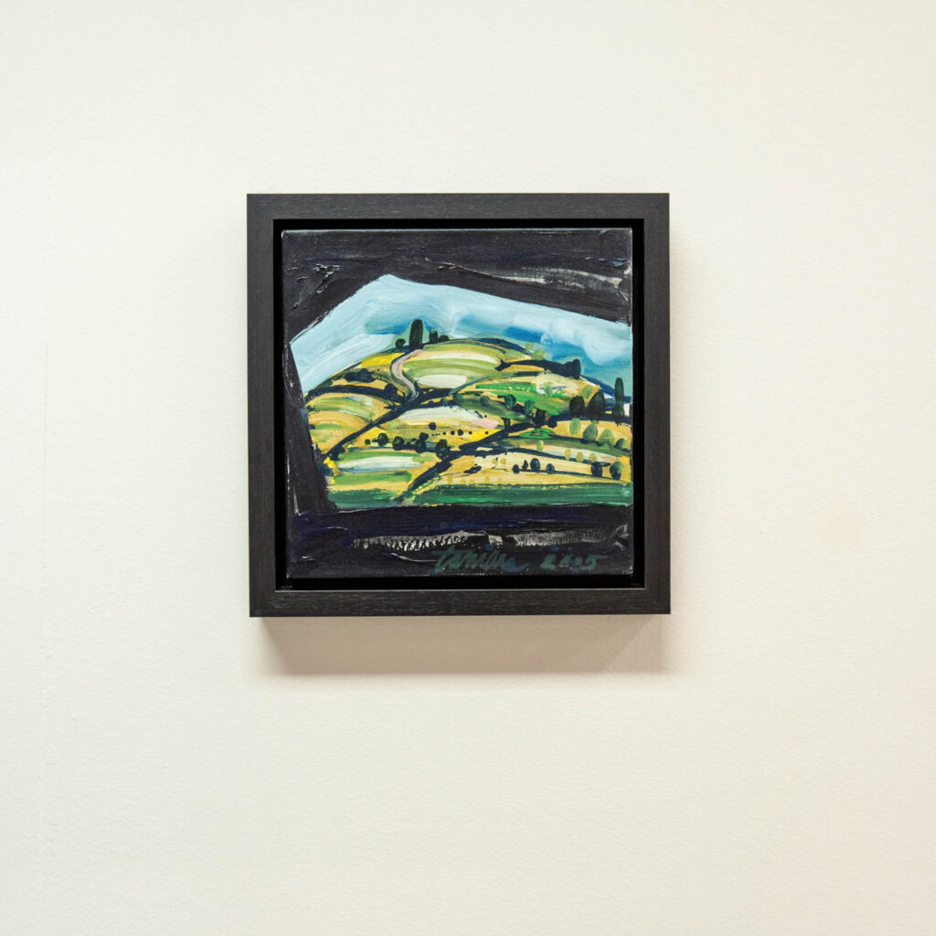 Črn natur okvir za slike